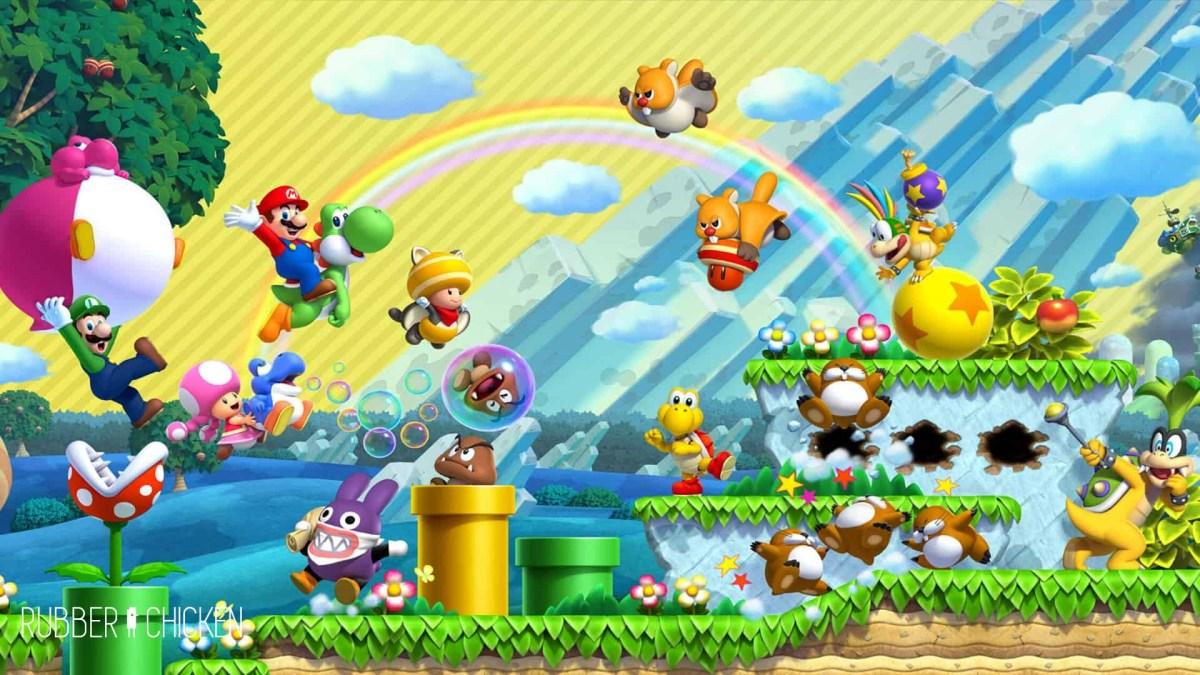 New Super Mario Bros. U, desta vez com ainda mais luxo