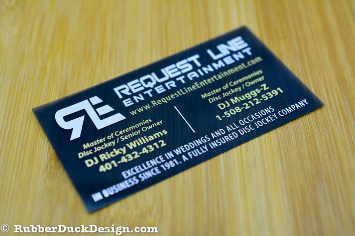 Smoke Translucent Plastic Business Cards
