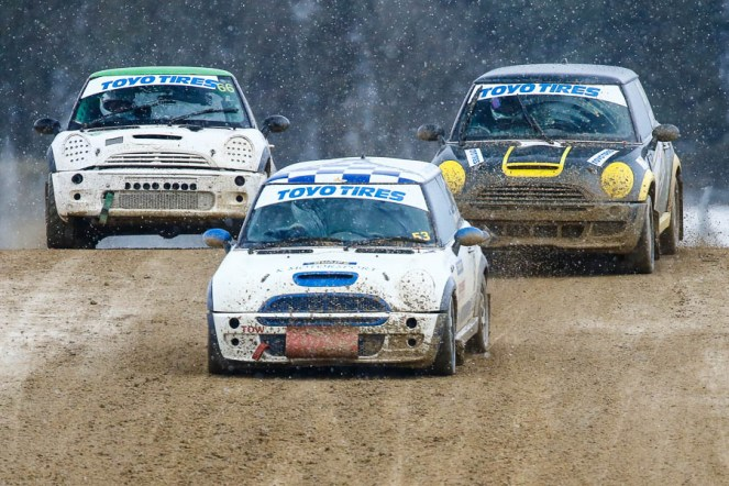 MARCH 17. MSA British Rallycross championship 2018. Round 1 Silverstonel. (Photo by Matt Bristow/mattbristow.net)
