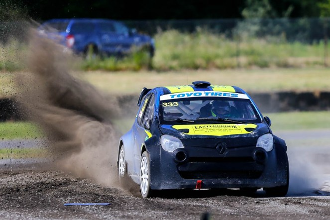 Jack Thorne drove an impressive weekend