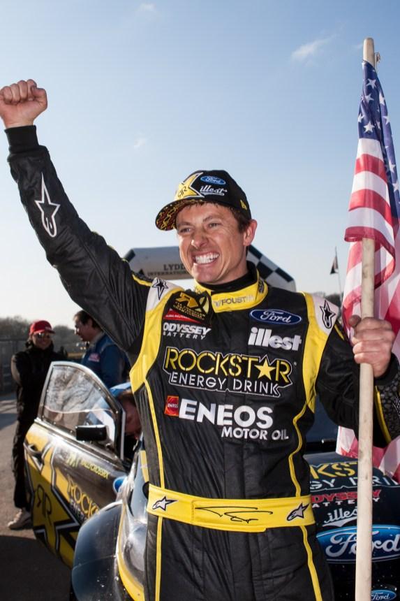Tanner Foust | 2013 FIA European Rallycross Championship