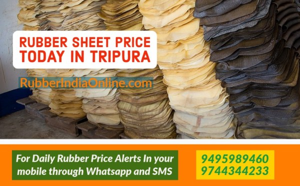 Rubber sheet price today in tripura will help rubber dealers in tripura