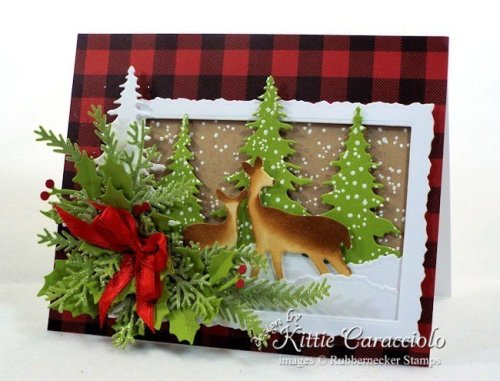 Rubbernecker Stamps Blog Come-see-how-I-made-this-deer-Christmas-card.-500x381
