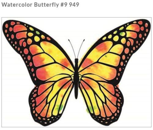 Rubbernecker Blog Watercolor-Butterfly-500x423