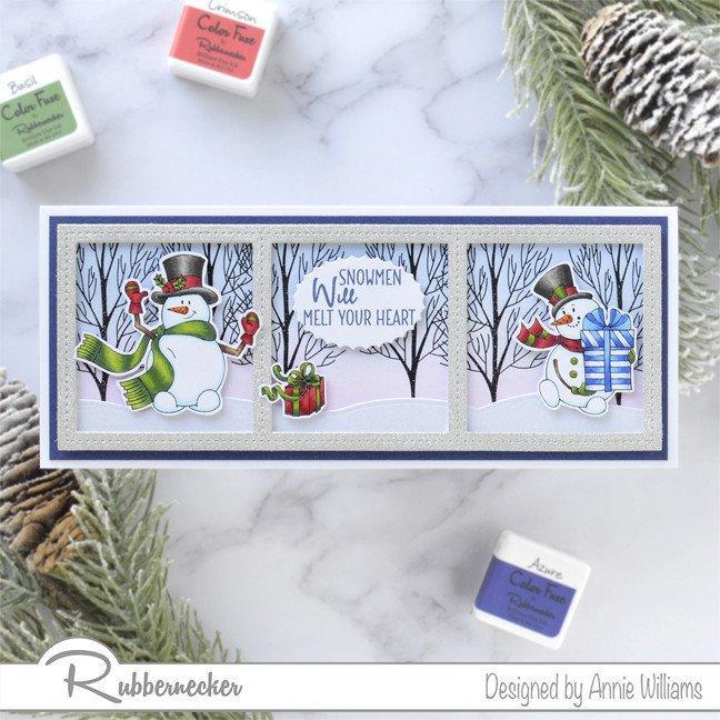 Rubbernecker Blog snowman-card
