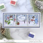 Rubbernecker Blog snowman-card