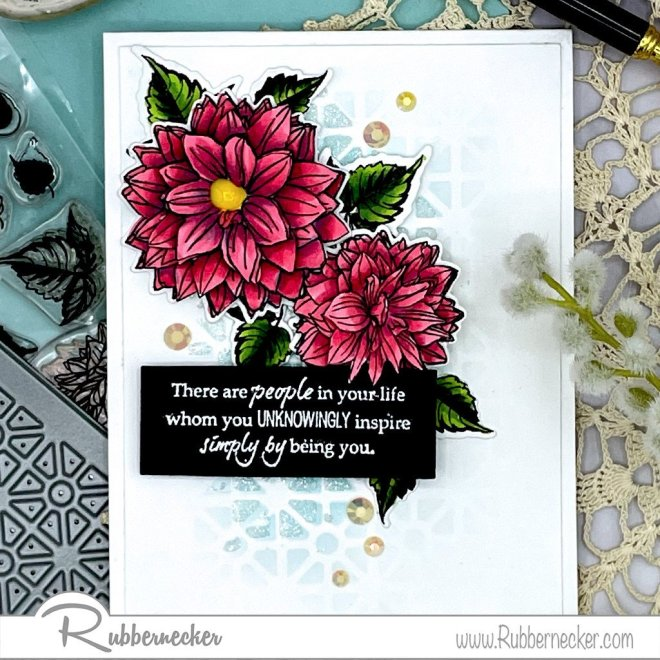 Rubbernecker Blog 3D-Flowers-using-outlline-floral-stamps-3