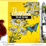 Rubbernecker Blog Daisy-on-colored-cardstock