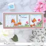 Rubbernecker Blog Curious-Foxes-Slimline-Card-by-Annie-Williams-for-Rubbernecker-Main