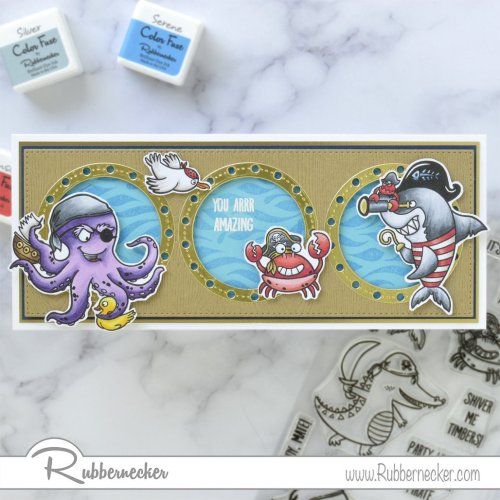 Rubbernecker Blog Pirate-Ship-Slimline-Card-by-Annie-Williams-for-Rubbernecker-Flat-500x500