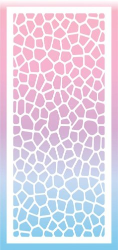 Rubbernecker Blog 4115-Slimline-stained-glass-stencil-color-237x500