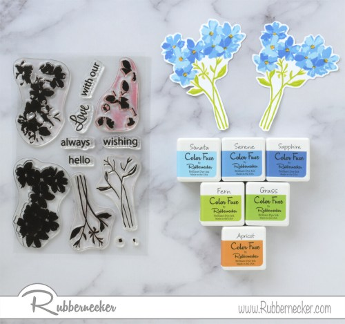 Rubbernecker Blog Blue-Bunches-Slimline-Card-by-Annie-Williams-for-Rubbernecker-Stamping-500x469