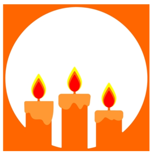 Rubbernecker Blog candles-in-circle-489x500