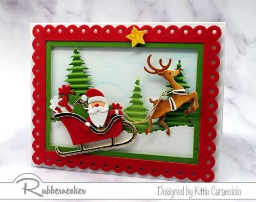Rubbernecker Blog 5416-04D-5416-03D-5416-05D-Santa-with-Presents-Santas-Sleigh-and-Flying-Reindeer-500x396