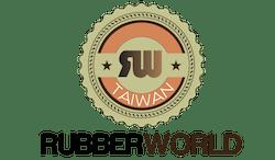 rubber world seal logo
