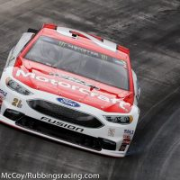MENCS: Ryan Blaney showing speed in happy hour