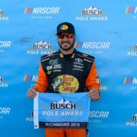 MENCS: Martin Truex Jr. on Pole for Toyota Owners 400