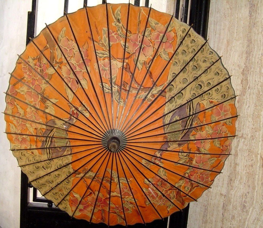 My Japanese paper umbrella - Wasaga (1/6)