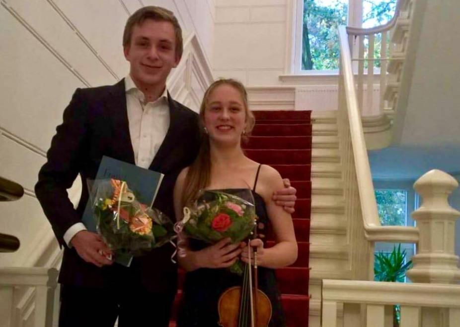 3 Concerten met violiste Salomé Bonnema