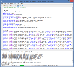 Compiling the script