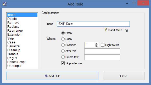 Using EXIF Data