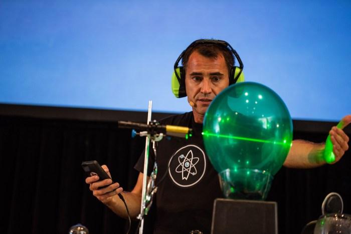 Ruben with Laser