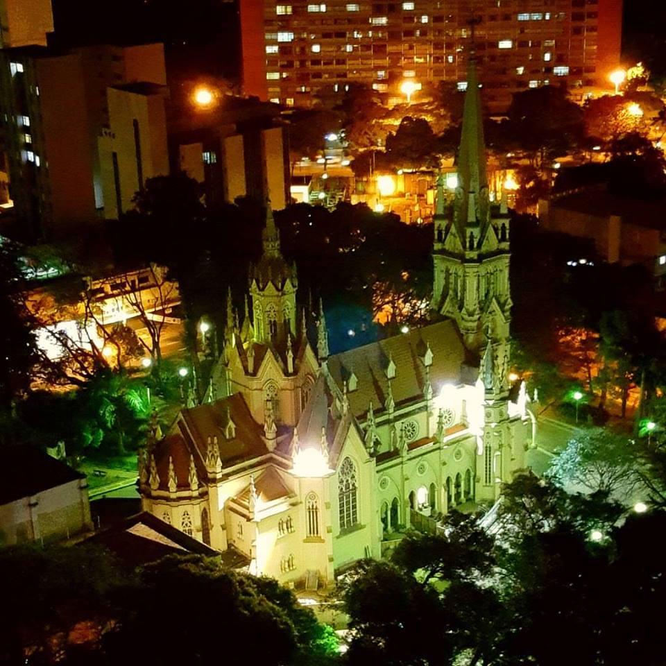 Igreja de Nossa Senhora da Boa Viagem, no Recife (Foto: Facebook)