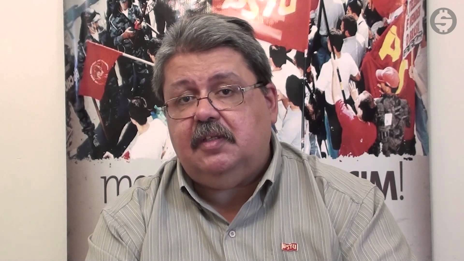 Antônio Radical, do PSTU (Foto: YouTube)