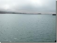 Туманное небо над заливом