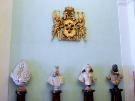 Busts of Medici family members