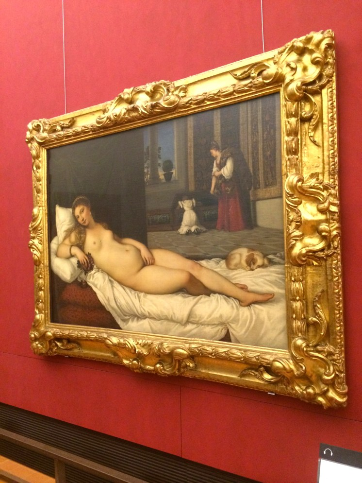 """Venus d'Urbino--intended to depict the """"ideal wife"""" of a noble"""