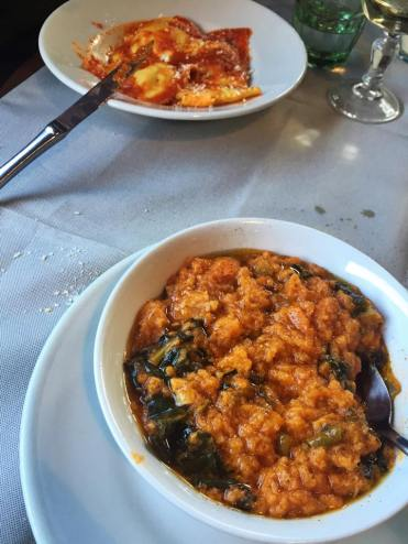 Ribollita (vegetable and bread soup)
