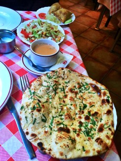 Indian food at Calcuta Restaurante