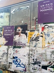 PODEMOS posters