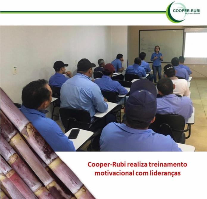 Cooper Rubi Realiza Treinamento Motivacional Com Lideranças
