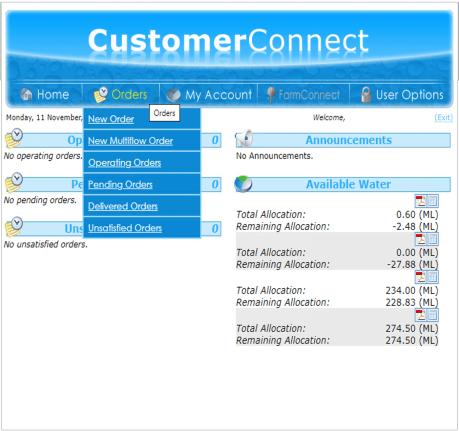 Confluent Irrigation Software - Customer Connect Platform