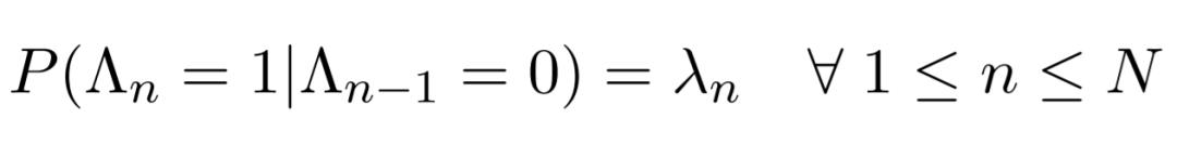 PonderNet Transition Probability