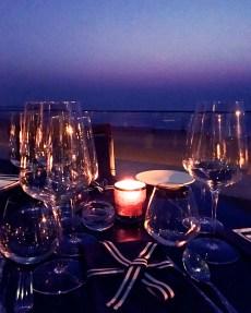 Table by the sea | Photo: Rubina A Khan