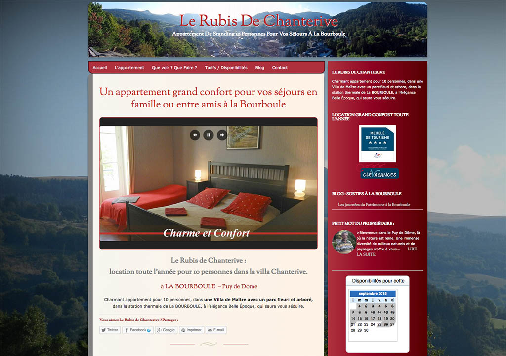 Location appartement La Bourboule