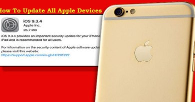 How to Update Apple Devices