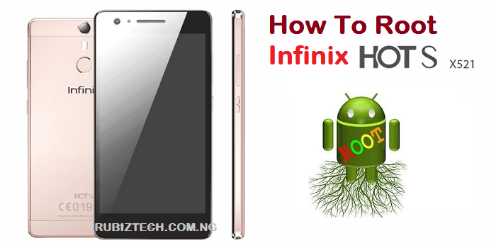 root infinix hot S