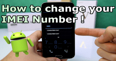 Change, Repair, Analyze IMEI Number