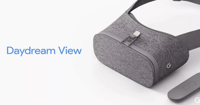 Google's Daydream View Virtual Reality Headset