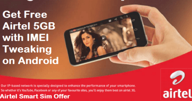 Free Airtel 5GB with IMEI Tweaking