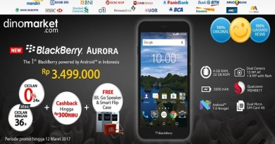 New BB Merah Putih To Launch As Blackberry Aurora
