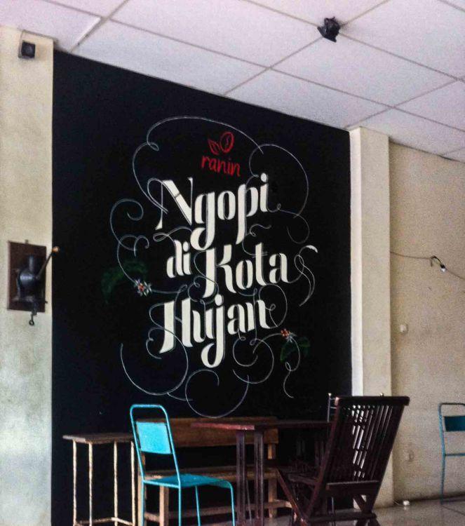 Rumah Kopi Ranin Bogor, Ini Kedai Kopi Sejati