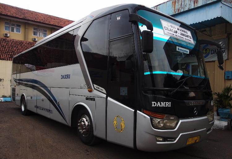 Bus Ke Cilacap, Naik Damri Nyaman dan Murah