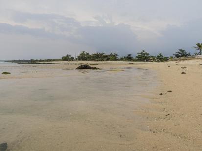 Salah satu sisi Pantai Cibuaya Ujung Genteng