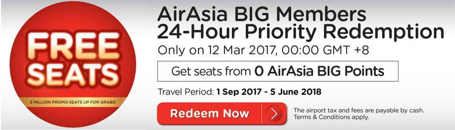 Air Asia Big Point Terbang Gratis Keliling 4 Negara Asean