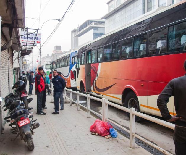 Kantipath Road Bus Pool